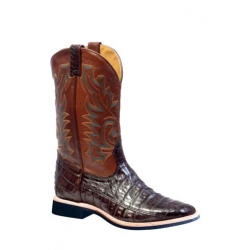 BOULET Wide Square Toe Caiman boot-5511 - Extralight