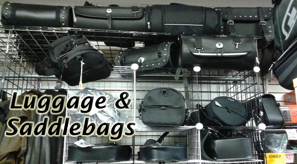 Accessorize your bike with a great set of Saddlebags