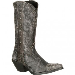 CRUSH BY DURANGO WOMEN'S DRD0127 PUNK STUDDED WESTERN BOOT