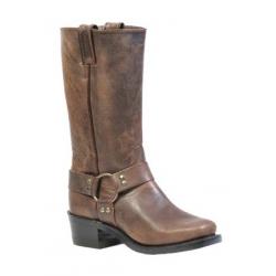 "BOULET's 12"" Women's Selvaggio Wood Vagabond Toe Riding Boot 1072"