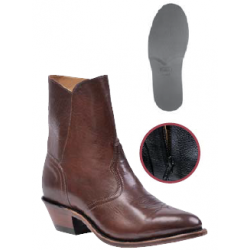 Boulet Mens Ranch Hand Tan Medium cowboy toe Western Dress boot 2230