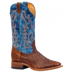 Boulet wide square toe Ostrich boot 3517