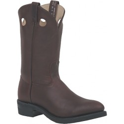 Canada West 5060 Plain-Toe Work Western Boots - Walnut