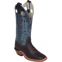 "Chocolate Taurus/Topaz Bisonte 4069 14"" Canada West Ladies BRAHMA Ropers"