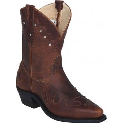 "Tobacco Kodiak 6"" 3056 Ladies Canada West Westerns"