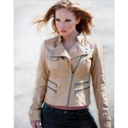 Whet Blue's LADIES FASHION JACKET-WBL1027 STONE