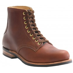 Men's WM. Moorby Footwear 2801 Pecan Tumbled
