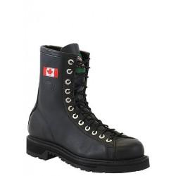 """Black Loggertan 8"""" Side Zip 14419 Canada West Bikers & Engineers"""