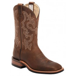 "Alamo Tan 11"" 8568 Canada West Brahma Ranchman Ropers"