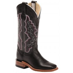 "Black Cervo 13"" Canada West 4094 Ladies BRAHMA Ropers"