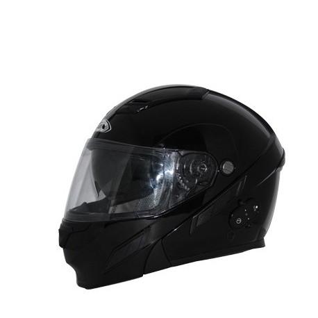 BRIGADE SVS COM Black modular helmet