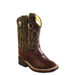 48fc1199923 Old West 3129 Toddler's Western Boots - Tan Canyon