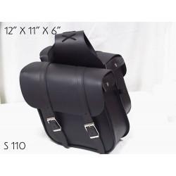 Slant Saddle Bag plain s110