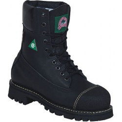 """Black Loggertan 8"""" Insulated 6204 Ladies Canada West Work Boots"""