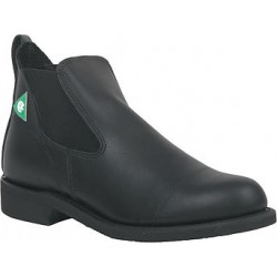 "Men`s CANADA WEST® Romeos - 34326 5"" Black Loggertan ST/PR1 Steel Toe"