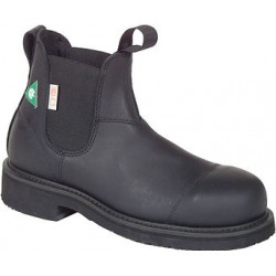 "Men`s CANADA WEST® Romeos - 34329 6"" Black Loggertan ST/PR1/ESR - Steel Toe"