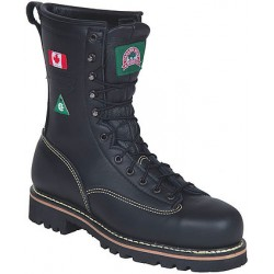Canada West 34397 Fire-Retardent Steel-Toe Lace Work Boots CSA Grade 1