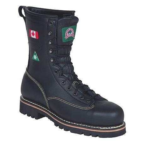 Canada West 34397 Fire Retardent Black Boulder Leather