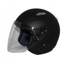 Open Face Helmet Kaba SX Solid Matte Black