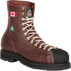 Canada West 34410 Steel-Toe Lace Work Boots CSA Grade 1