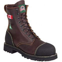 Canada West 34317 Steel-Toe Lace Work Boots CSA Grade 1