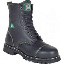 Canada West 34379 Fire-Retardent Steel-Toe Lace Work Boots CSA Grade 1 - Insulated