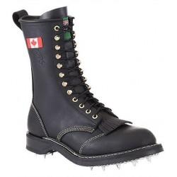 Canada West 14366 Steel-Toe Black Loggertan Lace Work Boots CSA Grade 1