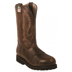 "Boulet Mens 12"" Insulated Gerico Brown Steel toe work boot 5175"