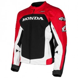 Joe Rocket HONDA SUPERSPORT Textile Jacket Red