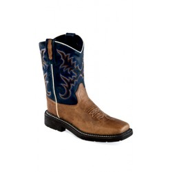 OLD WEST WB1002Y Youth Square Toe