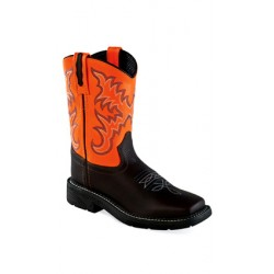 OLD WEST WB1003Y Youth Square Toe