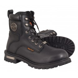 Milwaukee MBM9096WP Men's Waterproof Logger Boot w/ Lace to Toe Design