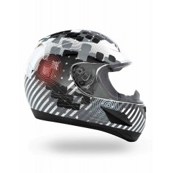 RR601 Nightlife White CKX Helmet