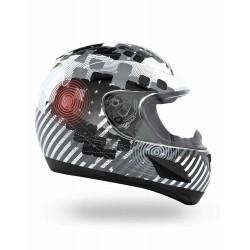 RR601 Nightlife White CKX Helmet