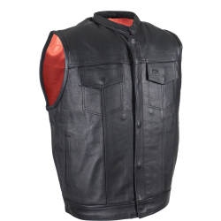 Club Vest with Gun pocket MV 316- Red Lining