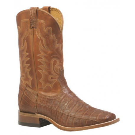 Boulet Mens Caiman Wide square toe boot 9529