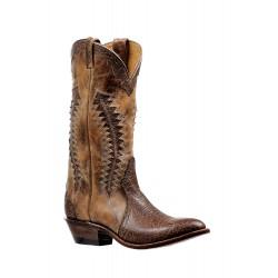 Boulet Shoulder Taurus Noce medium cowboy toe boot 6289