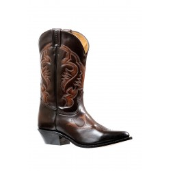 Boulet's Challenge Palermo Brown Western Boot -6277