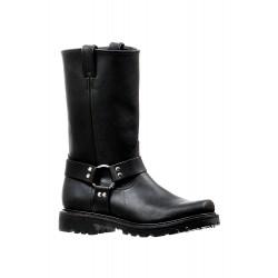 Boulet Mens Grasso Black Broad square Toe Boot 6333