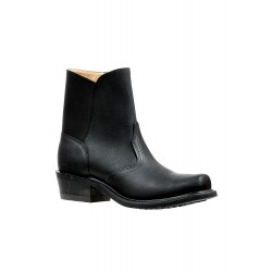 BOULET Grasso Black Broad Square Toe Riding Boot - 6362