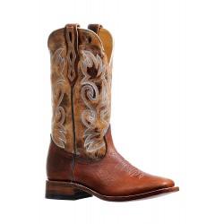 Boulet BISON Delantero Utta Whiskey Mens Wide Square Toe Boot 6325