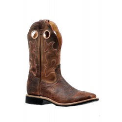 Boulet Extralight Shrunken Bomber Virginia Mesquite Mens Wide Square Toe boot 6247