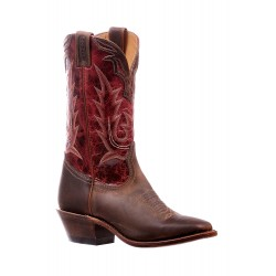 "Boulet 12"" Golden Faraon Ferrari Ladies Wide square toe boot 6263"