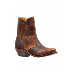 "Boulet Ladies 7"" Gerico Brown Puma Madera Medium Cowboy toe boot 6358"