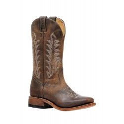 """Boulet 13"""" Ladies HillBilly Golden Wide Square Toe Boot 6211"""