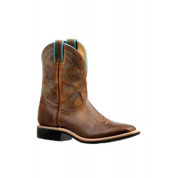 """Boulet 8"""" Ladies Extralite HillBilly Golden Wide Square Toe Boot 6447"""