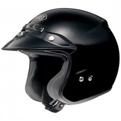 SHOEI - RJ Platinum-R Black (Gloss) Open-Face Helmet