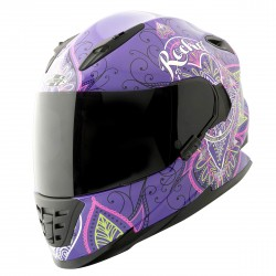 JOE ROCKET 13-Series - Heartbreaker Purple HELMET