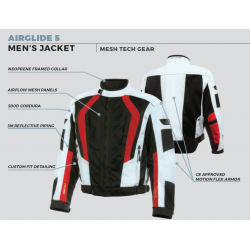 Olympia - AIRGLIDE 5 - Men's Mesh Tech Jacket