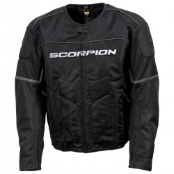 Scorpion Men's EDDY Black Mesh Sport Bike Jacket